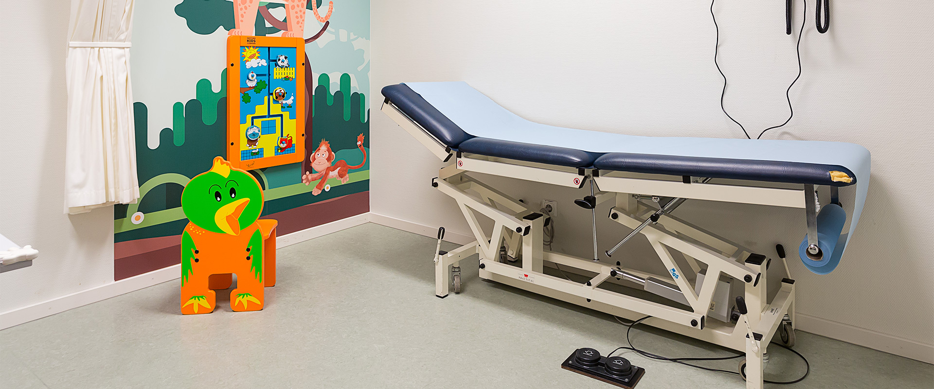 Maasstad hospital kids furniture | IKC Healthcare