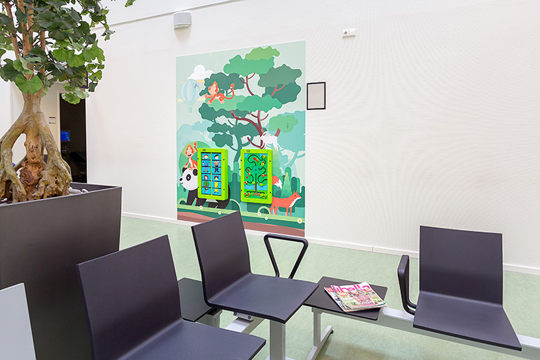 Hospital Maasstad waiting area | IKC Healthcare