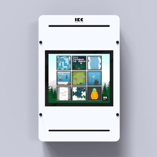Op deze afbeelding staat een interactief speelsysteem Delta 17 inch white