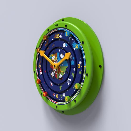 Dieses Bild zeigt eine Wandspiel Clock around