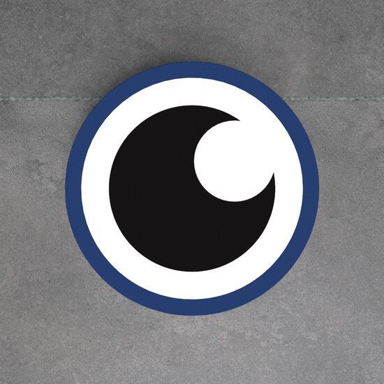 Op deze afbeelding staat een softplay Eye aye blue