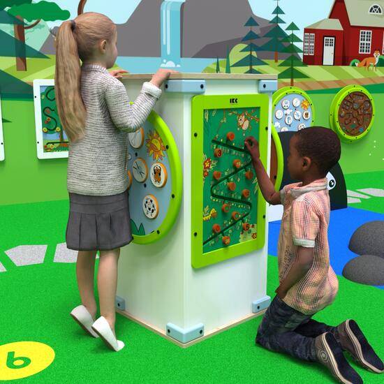 This image shows a play system four fun