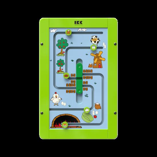 maak een appeltaart met dit sorteerspel voor aan de wand   IKC wandspellen muurspellen