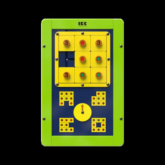 puzzel voor kinderen maak de afbeelding na   IKC wandspellen muurspellen