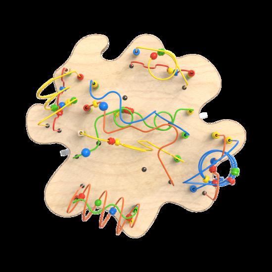 Spelenderwijs de fijne motoriek verbeteren met de kralentafel | IKC Speelsystemen
