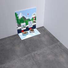 Op deze afbeelding staat een speelhoek Arctic S 2 m²