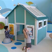 This image shows a playhouse | IKC playhouses