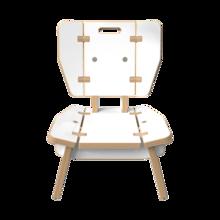 Houten lounge stoel voor kinderen   IKC Kindermeubels