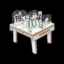Wit houten kralentafel voor kinderen | IKC Kindermeubels