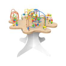 Spelenderwijs de fijne motoriek verbeteren met de kralentafel | IKC educatief speelsysteem kinderhoek